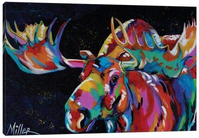 Big Bullwinkle Canvas Art Print