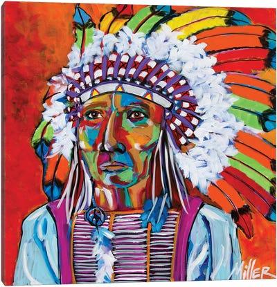 Big Chief Canvas Art Print