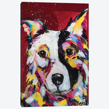 BorderCollie Canvas Print #TCY35} by Tracy Miller Canvas Art