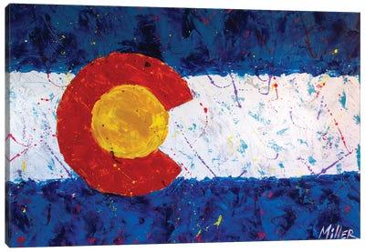 Colorado Flag Canvas Art Print