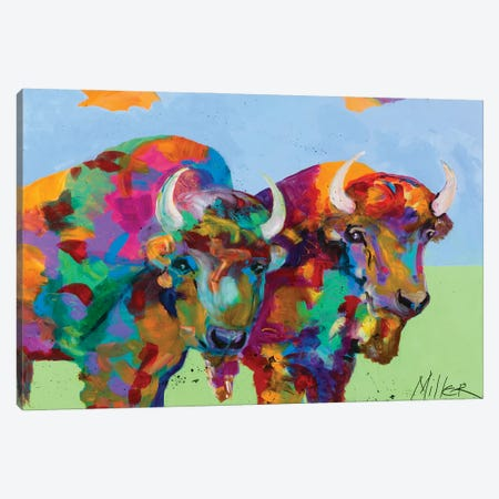 Companions Canvas Print #TCY48} by Tracy Miller Canvas Art