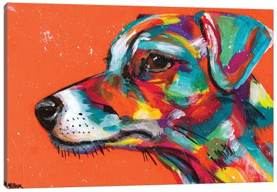 Jack Russell Canvas Art Print