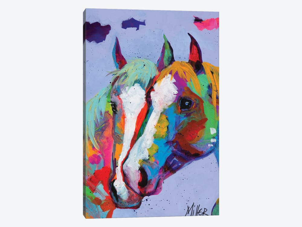 Pardners by Tracy Miller 1-piece Art Print