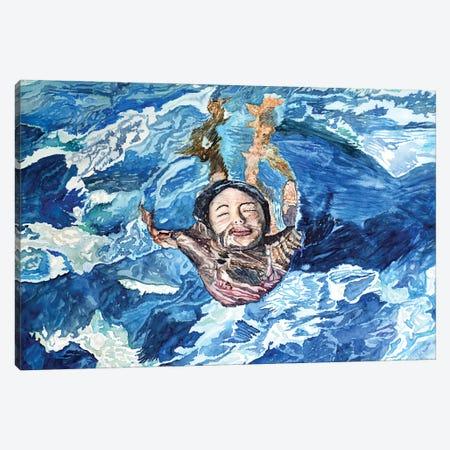 Acqua X Canvas Print #TDC15} by Paolo Terdich Art Print
