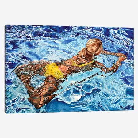 Acqua XVIII Canvas Print #TDC17} by Paolo Terdich Art Print