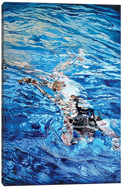 Acqua VII Canvas Art Print