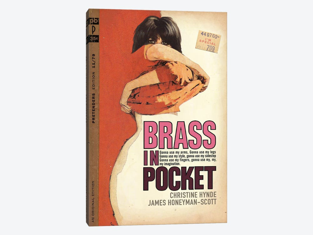 Brass In Pocket by Todd Alcott 1-piece Canvas Artwork