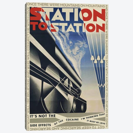 Station To Station Canvas Print #TDD58} by Todd Alcott Art Print