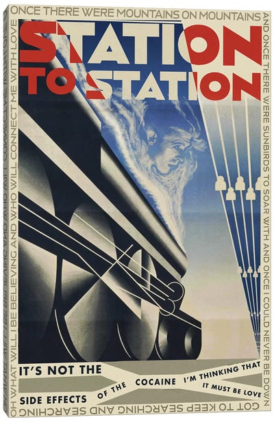 Station To Station Canvas Art Print