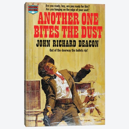 Another One Bites The Dust Canvas Print #TDD5} by Todd Alcott Canvas Art