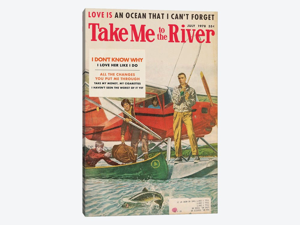 Take Me To The River by Todd Alcott 1-piece Art Print
