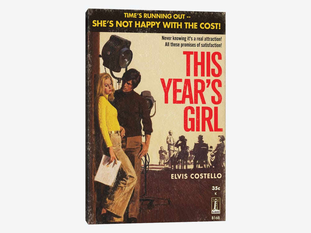 This Year's Girl by Todd Alcott 1-piece Canvas Art