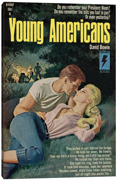 Young Americans Canvas Art Print