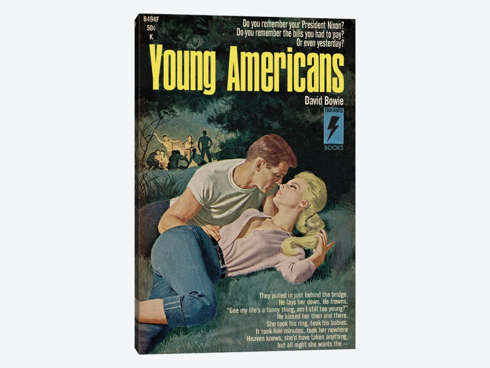 Young Americans by Todd Alcott 1-piece Canvas Art