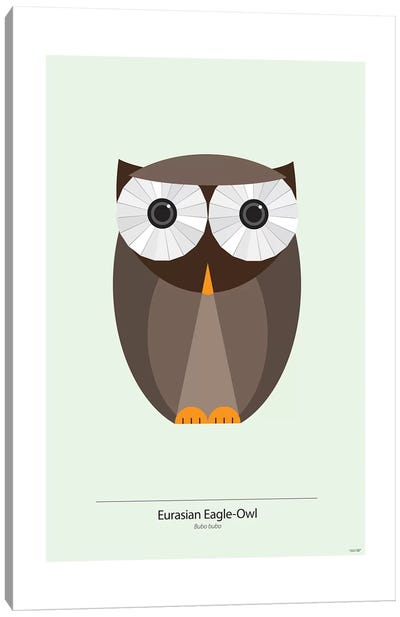 Bubo Canvas Art Print