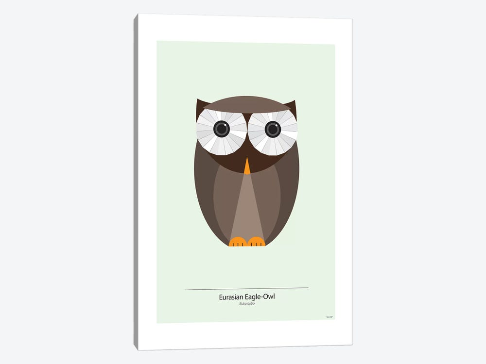 Bubo by TomasDesign 1-piece Canvas Print