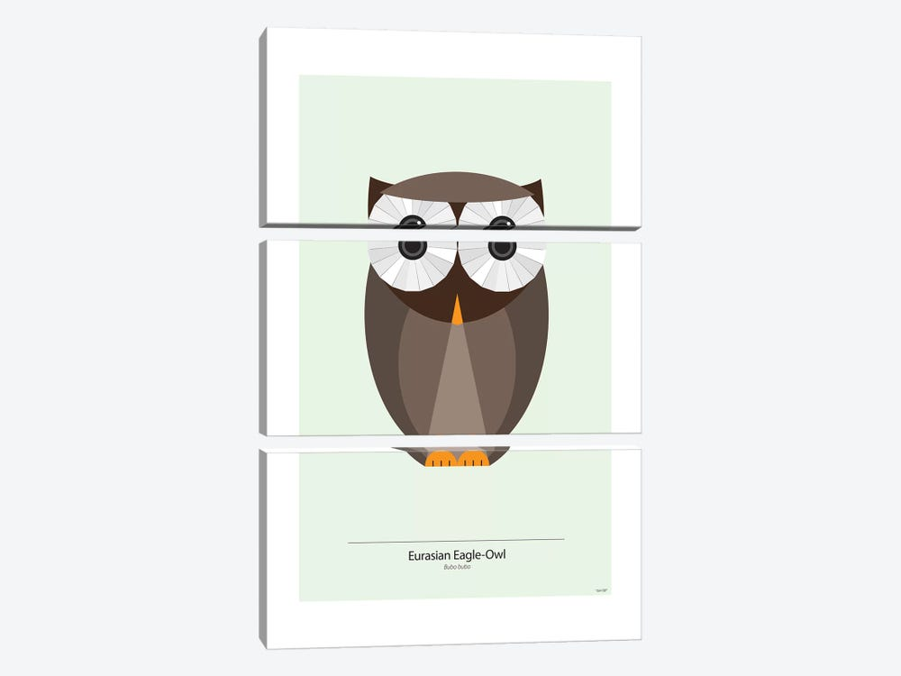 Bubo by TomasDesign 3-piece Art Print