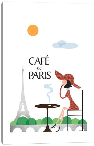 Café de Paris Canvas Art Print