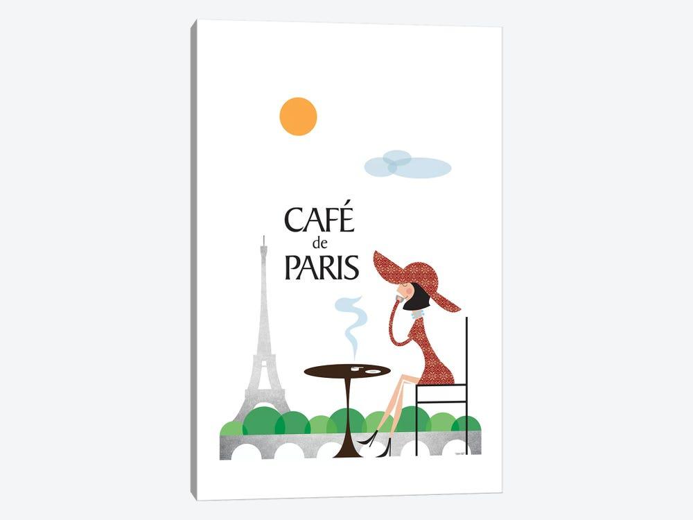 Café de Paris by TomasDesign 1-piece Canvas Art