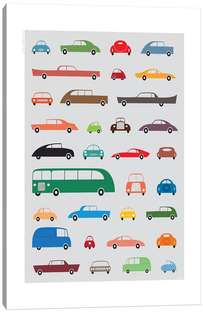 Cars Canvas Art Print
