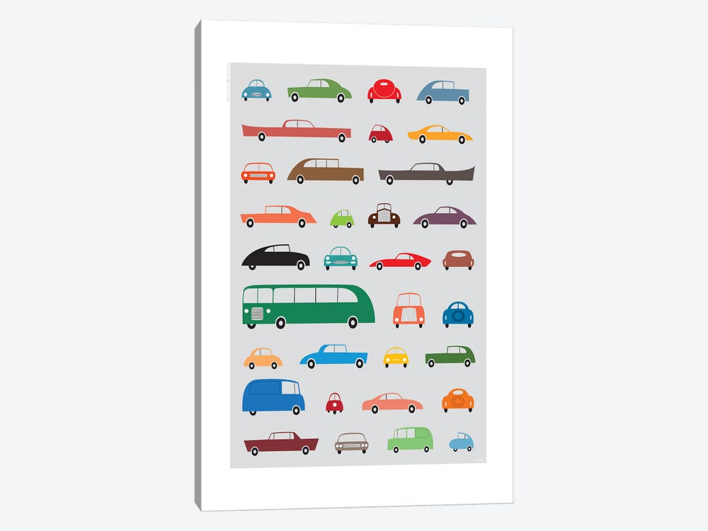 Cars by TomasDesign 1-piece Canvas Art Print
