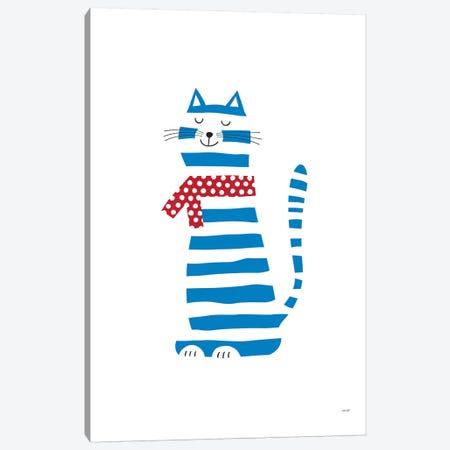 Cat Canvas Print #TDE13} by TomasDesign Canvas Artwork