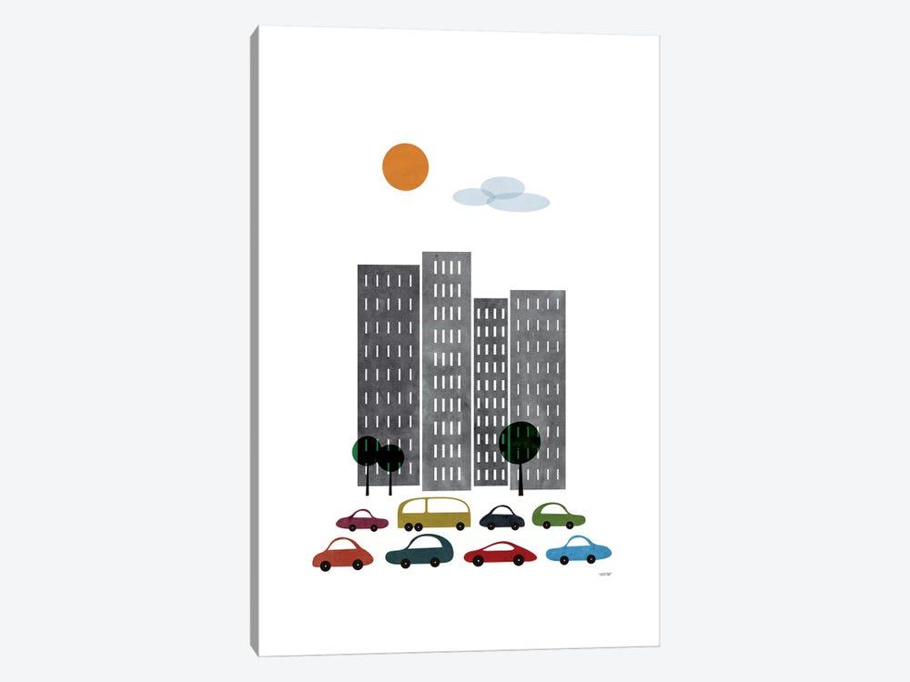 City I by TomasDesign 1-piece Canvas Art Print