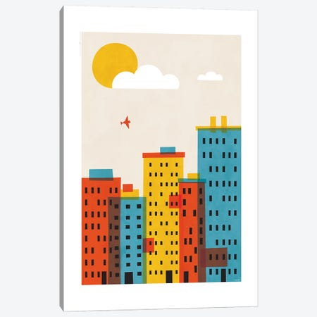City II Canvas Print #TDE15} by TomasDesign Canvas Art Print