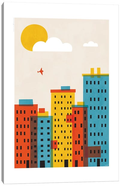 City II Canvas Art Print