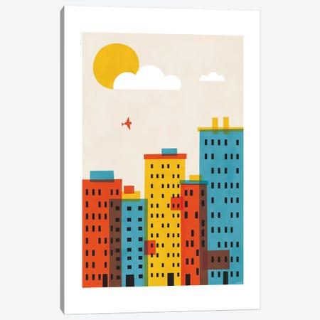 City II Canvas Print #TDE15} by TomasDesign Canvas Art Print