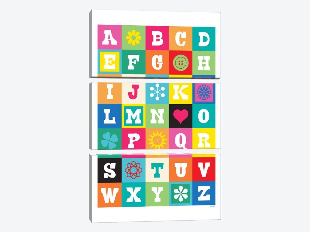 ABC by TomasDesign 3-piece Canvas Artwork