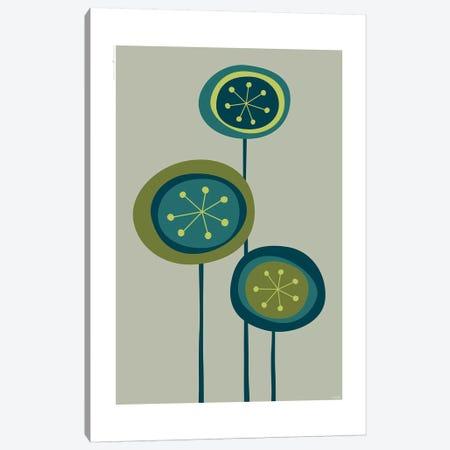 Flowers II Canvas Print #TDE21} by TomasDesign Canvas Art Print