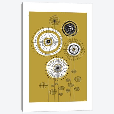 Flowers VI Canvas Print #TDE25} by TomasDesign Canvas Artwork