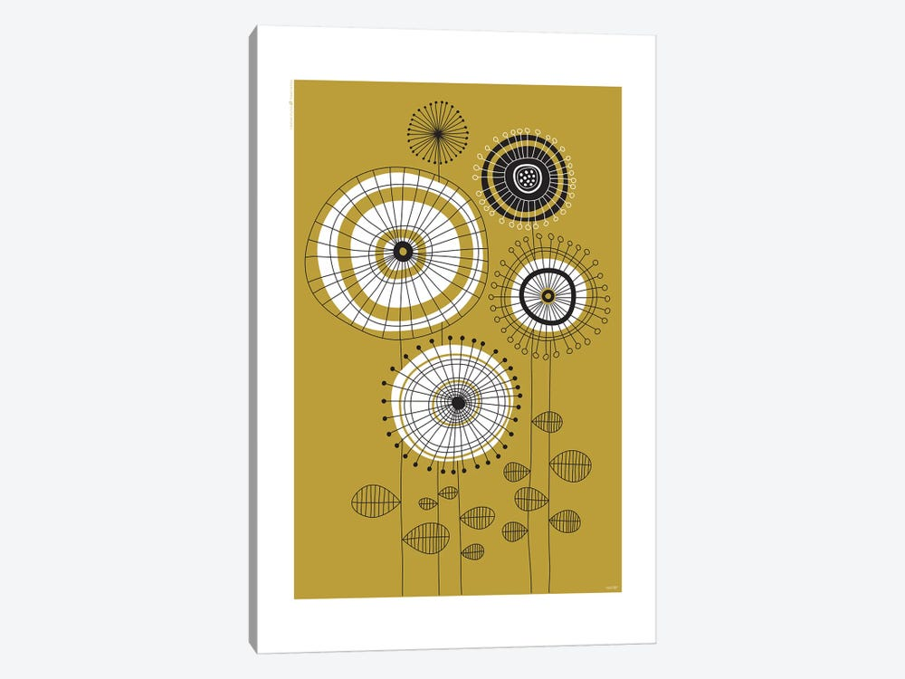 Flowers VI by TomasDesign 1-piece Canvas Print