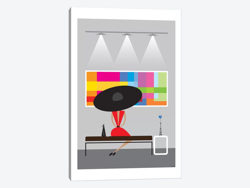 Gallery by TomasDesign 1-piece Canvas Art Print