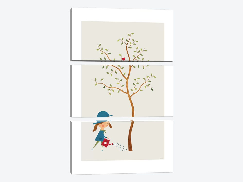 Gardener 3-piece Canvas Wall Art