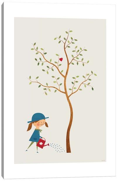Gardener Canvas Art Print