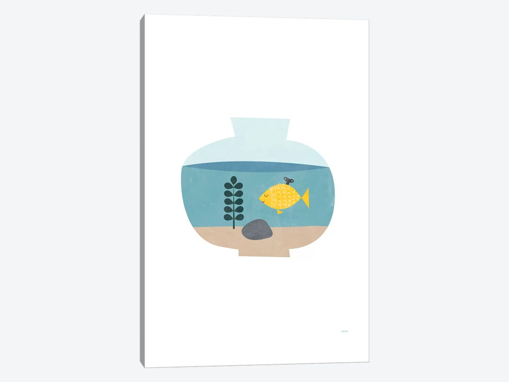 Goldfish by TomasDesign 1-piece Canvas Print