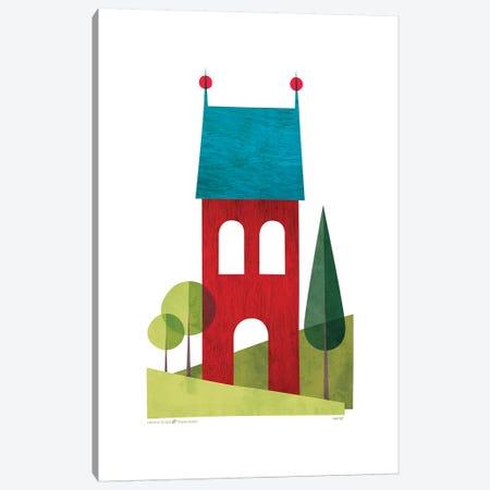 House II Canvas Print #TDE35} by TomasDesign Canvas Print