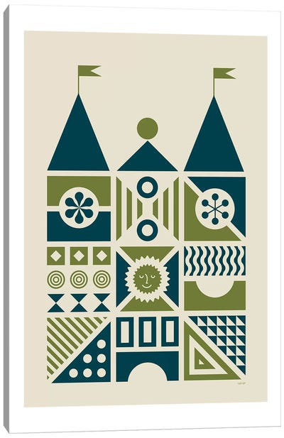 House IV Canvas Art Print