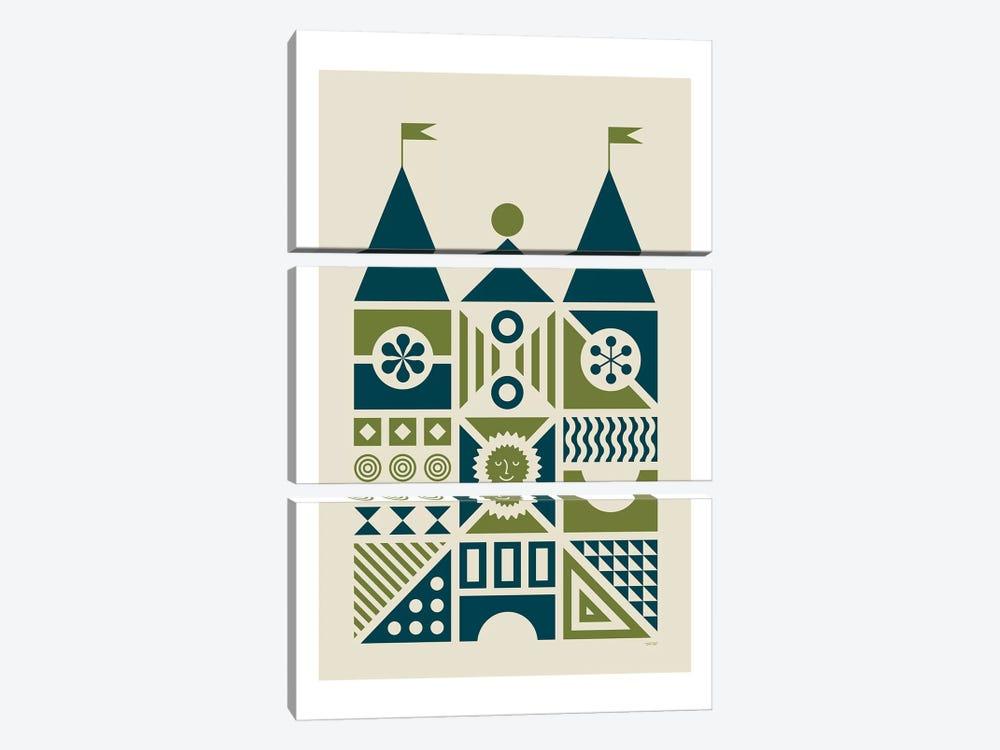 House IV by TomasDesign 3-piece Canvas Art Print