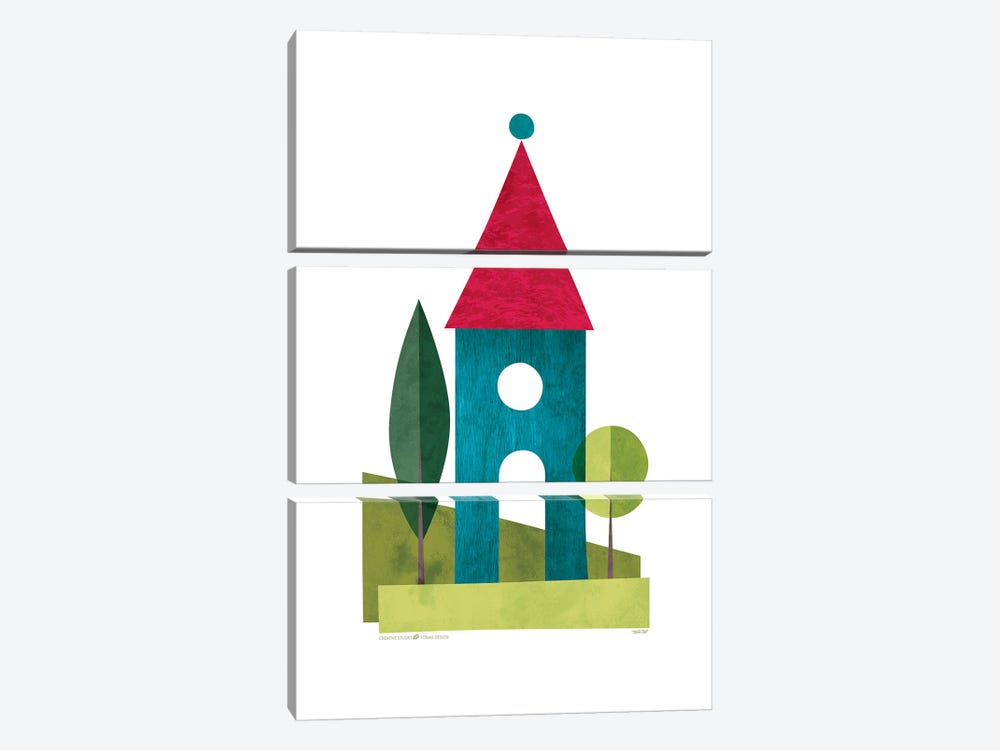 Houses by TomasDesign 3-piece Canvas Art