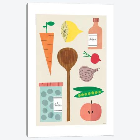 Kitchen Décor 3-Piece Canvas #TDE39} by TomasDesign Canvas Artwork