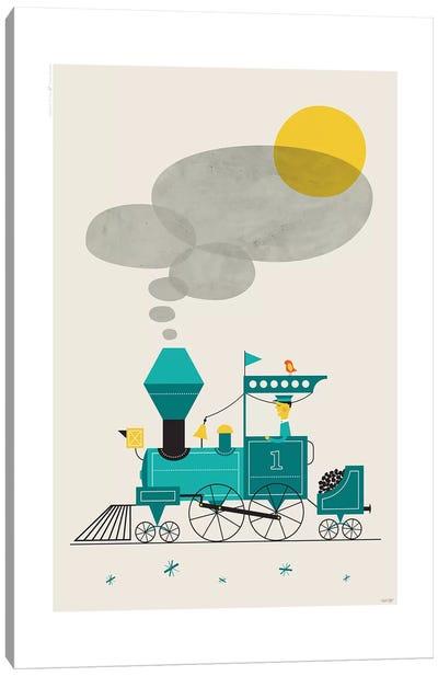 Locomotive Canvas Art Print