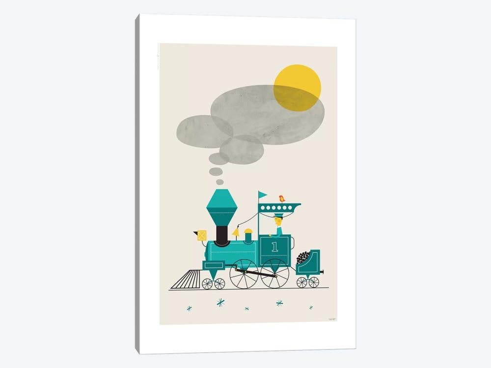 Locomotive by TomasDesign 1-piece Canvas Art Print