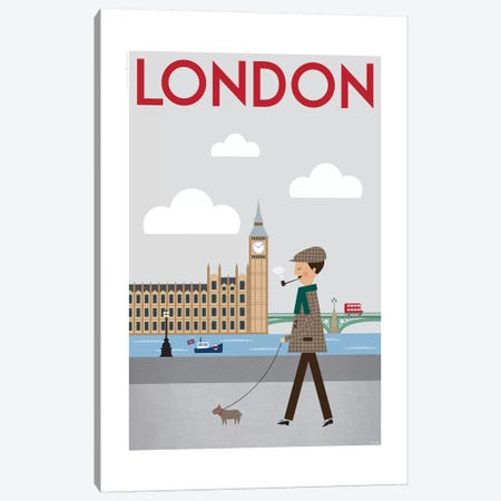 London Canvas Print #TDE42} by TomasDesign Canvas Art Print