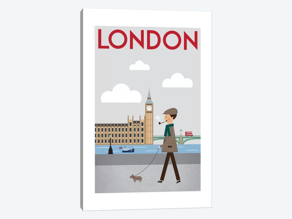 London by TomasDesign 1-piece Canvas Wall Art