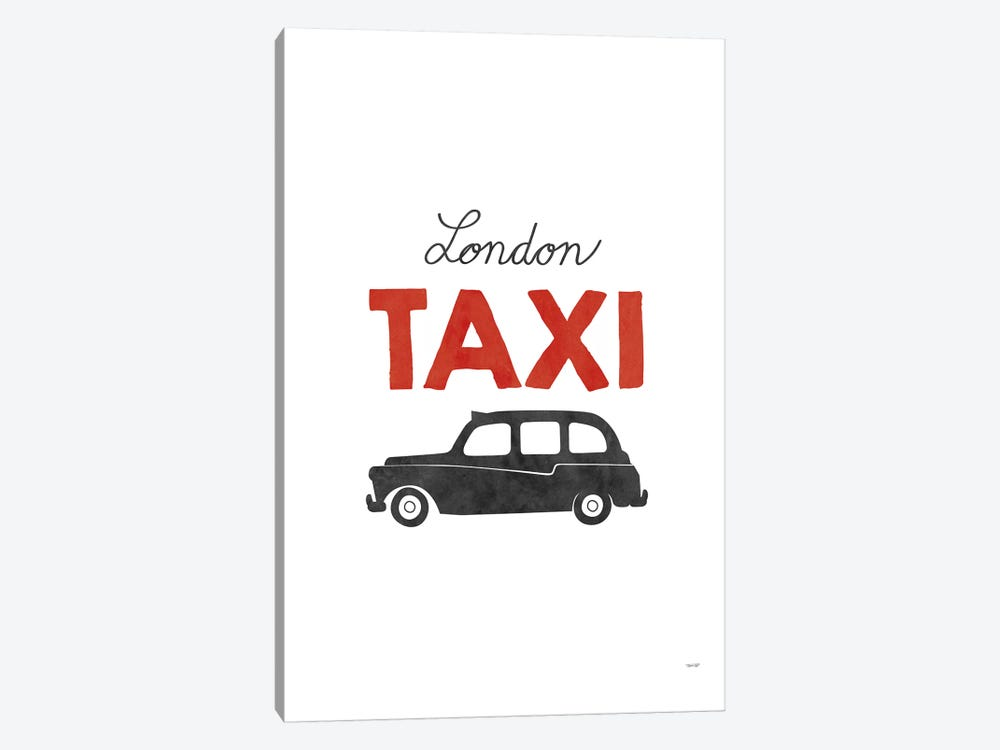 London Taxi 1-piece Art Print