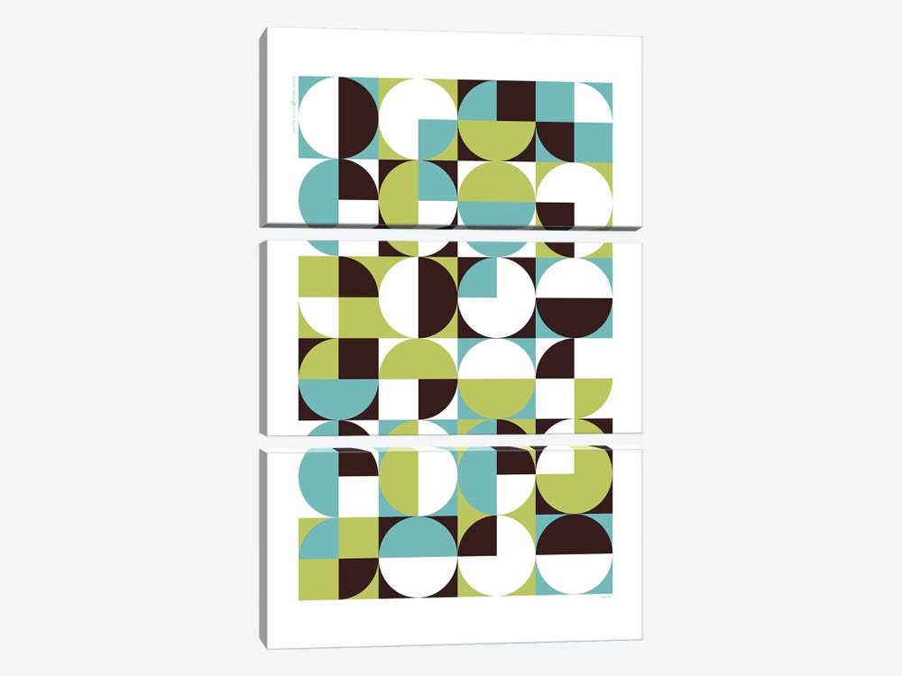 Modern Abstract I by TomasDesign 3-piece Canvas Art