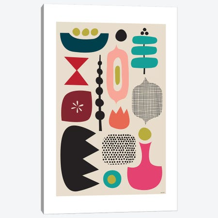 Modern Abstract IV Canvas Print #TDE47} by TomasDesign Canvas Wall Art